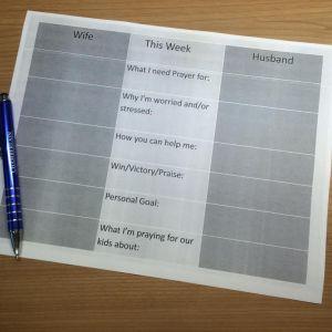Prayer Chart